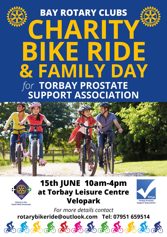 Charity Bike Ride & Family Day - Healthwatch Torbay